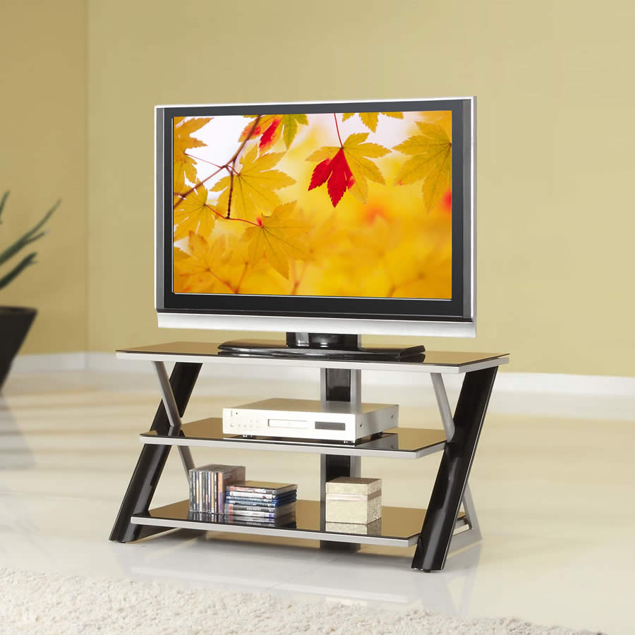 Whalen Xl 22 Furniture 3 In 1 Tv Stand For Flat Panel Tv Up To 60